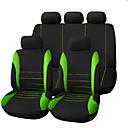 رخيصةأون جسم السيارة الديكور والحماية-أغطية مقاعد السيارات أغطية المقاعد أحمر / أخضر / أزرق قماش الأعمال التجارية / عادي من أجل عالمي عالمي عالمي
