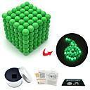 cheap Magnet Toys-216 pcs 3mm Magnet Toy Magnetic Balls Magnet Toy Super Strong Rare-Earth Magnets Magnetic Glow-in-the-dark Stress and Anxiety Relief Office Desk Toys Relieves ADD, ADHD, Anxiety, Autism Novelty