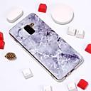 رخيصةأون حافظات / جرابات هواتف جالكسي A-غطاء من أجل Samsung Galaxy A6 (2018) / A6+ (2018) / Galaxy A7(2018) نموذج غطاء خلفي حجر كريم ناعم TPU