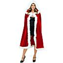ieftine Colier la Modă-Costume Cosplay Manta Santa Clothe Adolescent Adulți Unisex Șal Crăciun Crăciun An Nou Festival / Sărbătoare Terilenă Roșu-aprins Costume de Carnaval Vacanță