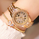 cheap Smartwatches-Women's Wrist Watch Japanese Quartz 30 m New Design Imitation Diamond Stainless Steel Band Analog Luxury Elegant Silver / Gold / Rose Gold - Gold Silver Rose Two Years Battery Life