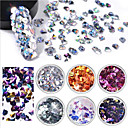 cheap Makeup & Nail Care-6 pcs Multi Function / Best Quality Eco-friendly Material Sequins For Creative nail art Manicure Pedicure Daily Trendy / Fashion
