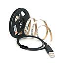 billige Audio- og videokabler-zdm 1pc 100cm 60 x 2835 hvid smd leds usb baggrundsstrimler lampestribe med switch dc5v