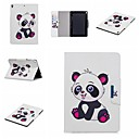 cheap iPad  Cases / Covers-Case For Apple iPad (2018) / iPad Pro 11'' Wallet / Shockproof / with Stand Full Body Cases Panda Hard PU Leather for iPad Air / iPad 4/3/2 / iPad Mini 3/2/1