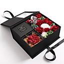 preiswerte Künstliche Blumen-Künstliche Blumen 1 Ast Klassisch Stilvoll Vase Tisch-Blumen