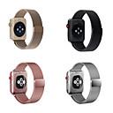 ieftine Ustensile Bucătărie & Gadget-uri-Uita-Band pentru Apple Watch Series 4/3/2/1 Apple Curea Milaneza Oțel inoxidabil Curea de Încheietură