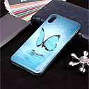 رخيصةأون أغطية أيفون-غطاء من أجل Apple iPhone XS / iPhone XR / iPhone XS Max يضوي ليلاً / نموذج غطاء خلفي فراشة ناعم TPU