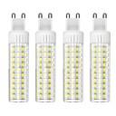 hesapli Dekorasyon Etiketleri-4adet 8.5 W 1105 lm G9 LED Mısır Işıklar T 125 LED Boncuklar SMD 2835 Kısılabilir Sıcak Beyaz / Serin Beyaz 220 V