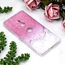 cheap LED Corn Lights-Case For Sony Xperia XZ2 Compact / Xperia XZ2 Transparent / Pattern Back Cover Marble Soft TPU for Sony Xperia XZ2 / Sony Xperia XZ3 / Xperia XZ2 Compact