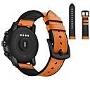 billige Urremme til Samsung-Urrem for Huami Amazfit Bip Younth Watch / Samsung Galaxy Watch 46 Samsung Galaxy Sportsrem / Klassisk spænde Ægte læder Håndledsrem