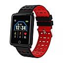 povoljno Pametni satovi-Kimlink F21 Muškarci Smart Satovi Android iOS Bluetooth Heart Rate Monitor Mjerenje krvnog tlaka Kalorija Udaljenost praćenje Informacija Brojač koraka Podsjetnik za pozive Mjerač aktivnosti Mjera