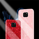 cheap Cases / Covers for Huawei-Case For Huawei Huawei Mate 20 Pro / Huawei Mate 20 Mirror Back Cover Solid Colored Hard Tempered Glass for Huawei Mate 20 lite / Huawei Mate 20 pro / Huawei Mate 20