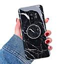 رخيصةأون حافظات / جرابات هواتف جالكسي S-غطاء من أجل Samsung Galaxy S9 / S9 Plus / S8 Plus مع حامل / IMD غطاء خلفي حجر كريم ناعم TPU
