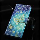 levne Galaxy J pouzdra / obaly-Carcasă Pro Samsung Galaxy Galaxy S10 Plus / Galaxy S10 E Peněženka / Pouzdro na karty / se stojánkem Celý kryt Motýl Pevné PU kůže pro Galaxy S10 / Galaxy S10 Plus / Galaxy S10 E