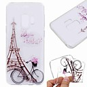 cheap Galaxy S Series Cases / Covers-Case For Samsung Galaxy S9 Plus / S8 Transparent / Pattern Back Cover Butterfly / Eiffel Tower / Marble Soft TPU for S9 / S9 Plus / S8 Plus