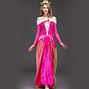 ieftine Machiaj Halloween-Aurora Costume Cosplay Adulți Pentru femei Rochii Crăciun Halloween Carnaval Festival / Sărbătoare Tul Șifon Roz Costume de Carnaval Prințesă / Satin
