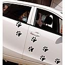 ieftine Abțibilde Auto-Alb / Negru Autocolante de Mașină Desen animat / Sport / Cute Stil Etichete pentru autovehicule / Mașină de cofraj pentru autovehicule Desene Animate Acțibilde