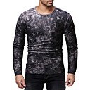cheap Ceiling Lights-Men's Basic / Exaggerated T-shirt - Color Block Print