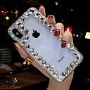 levne iPhone pouzdra-Carcasă Pro Apple iPhone XR / iPhone XS Max S kamínky / Průhledné / Udělej si sám Zadní kryt Štras Měkké TPU pro iPhone XS / iPhone XR / iPhone XS Max
