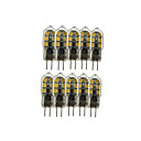 tanie Żarówki LED bi-pin-10 szt. 3 W 200-300 lm G4 Żarówki LED bi-pin T 12 Koraliki LED SMD 2835 Słodkie 12 V