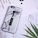 رخيصةأون أغطية أيفون-غطاء من أجل Apple iPhone X / iPhone 8 Plus / iPhone 8 نموذج غطاء خلفي حجر كريم ناعم TPU