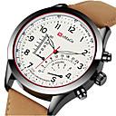 ieftine Ceasuri Bărbați-Bărbați Ceas Sport Ceas Elegant Ceas de Mână Quartz Piele Negru / Maro Creative Cool Analog - Digital Lux Modă Aristo - Maro Negru / Alb Kaki Un an Durată de Viaţă Baterie