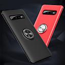 billige Etuier / covers til Galaxy S-modellerne-Etui Til Samsung Galaxy Galaxy S10 / Galaxy S10 E Ringholder / Ultratyndt Bagcover Ensfarvet Blødt TPU for S9 / S9 Plus / Galaxy S10