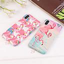 olcso iPhone tokok-Case Kompatibilitás Apple iPhone XS / iPhone XS Max Ultra-vékeny / Minta Fekete tok Flamingó / Állat Kemény PC mert iPhone XS / iPhone XR / iPhone XS Max