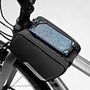 economico Borse per bicicletta-1.5 L Bag Cell Phone Marsupio triangolare da telaio bici Ompermeabile Portatile Indossabile Borsa da bici Poliestere 600D Marsupio da bici Borsa da bici iPhone X / iPhone XR / iPhone XS Attivit