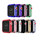 levne iPhone kabely a adaptéry-Carcasă Pro Apple Apple Watch Series 3 / Apple Watch Series 2 / Apple Watch Series 1 Silikon Apple