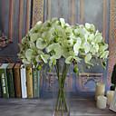 رخيصةأون الأساور الذكية-زهور اصطناعية 5 فرع كلاسيكي أوروبي أسلوب بسيط الأوركيد / السحلبية الزهور الخالدة أزهار الطاولة