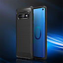 halpa Meikki & kynsienhoito-Etui Käyttötarkoitus Samsung Galaxy Galaxy S10 / Galaxy S10 Plus Iskunkestävä Suojakuori Yhtenäinen Pehmeä TPU varten S9 / S9 Plus / S8 Plus