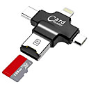 cheap Memory Cards-LITBest Micro SD card USB 2.0 / Micro USB / Lightning Card reader Android Cellphone / Computer / For iPhone