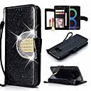 billige Etuier / covers til Galaxy S-modellerne-Etui Til Samsung Galaxy Galaxy S10 / Galaxy S10 Plus Kortholder / Støvsikker / Med stativ Fuldt etui Ensfarvet Hårdt PU Læder / TPU for S9 / S9 Plus / S8 Plus