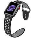 billige Daglige tilbud-Urrem for Apple Watch Series 4/3/2/1 Apple Klassisk spænde Silikone Håndledsrem