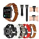 preiswerte Apple Watch Hüllen-Uhrenarmband für Apple Watch Series 4/3/2/1 Apple Sport Band Echtes Leder Handschlaufe