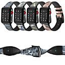 preiswerte Körperschmuck-Uhrenarmband für Apple Watch Series 4/3/2/1 Apple Klassische Schnalle Echtes Leder Handschlaufe