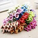 رخيصةأون أزهار اصطناعية-زهور اصطناعية 12 فرع كلاسيكي الزفاف زبنق لالا