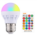 cheap iPhone Cases-1pc 3W 200-250LM RGBW E27 Led Bulb LED RGB LED Light Bulb with IR Remote Control Pop Lamp Color Changing 16 colors changing LED Bulbs Tubes AC85-265V