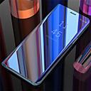 halpa Galaxy S -sarjan kotelot / kuoret-Etui Käyttötarkoitus Samsung Galaxy Galaxy S10 / Galaxy S10 Plus / Galaxy S10 E Peili / Flip / Automaattinen uni / herätystila Takakuori Yhtenäinen Kova PU-nahka varten Galaxy S10 / Galaxy S10 Plus