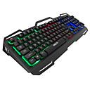 levne Klávesy-IMICE AK400 USB kabel Herní klávesnice multimediální klávesnice Svítící Multi barevné podsvícení 104 pcs Klíče