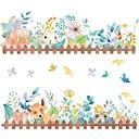 billige Dekorationsklistermærker-Dekorative Mur Klistermærker - Animal Wall Stickers Dyr / Former Barneværelse / Børneværelse