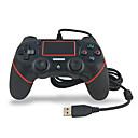 voordelige PS4-accessoires-pxn yxps4 bedrade spelbesturingen / joystick-controllerhandvat voor ps4 bluetooth nieuw ontwerp / draagbare spelcontrolemechanismen / joystickcontrolemechanismehandvat abs 1 PCseenheid