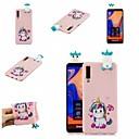 رخيصةأون حافظات / جرابات هواتف جالكسي A-غطاء من أجل Samsung Galaxy A6 (2018) / A6+ (2018) / Galaxy A7(2018) نموذج غطاء خلفي حيوان / كارتون ناعم TPU