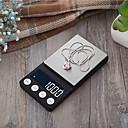 baratos Pulseira-200g/0.01g Alta Definição Portátil Apresentação LCD Escala de joias digitais para apresentações ou aulas Vida em casa Cozinha diária