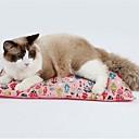 ieftine HDMI-Câini Pisici Paturi Îmbrăcăminte Oxford Animale de Companie  Rogojini & Pernuțe Mată Portabil Keep Warm Απαλό Albastru Roz Pentru animale de companie