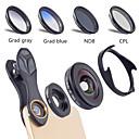 ieftine Lentile de Telefoane Mobile-Obiectivul telefonului mobil Lentile cu Filtru / Lentile cu Unghi Larg / Lentilă Macro sticlă / Aliaj din aluminiu 10X Macro 40 mm 0.16 m 110 ° Creative / Model nou / Cool