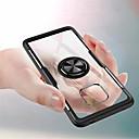 رخيصةأون Huawei أغطية / كفرات-غطاء من أجل Huawei Mate 10 pro / Huawei Mate 20 lite / Huawei Mate 20 pro حامل الخاتم غطاء خلفي لون سادة قاسي الكمبيوتر الشخصي