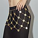 preiswerte Körperschmuck-Damen Körperschmuck 80 cm Hüftkette Gold / Silber / Rosa Kupfer Modeschmuck Für Geschenk / Party / Klub Sommer