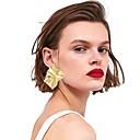 ieftine Cercei-Pentru femei Cercei Declarație La modă Modă cercei Bijuterii Auriu / Argintiu Pentru Stradă Concediu Club Măr Festival 1 Pair